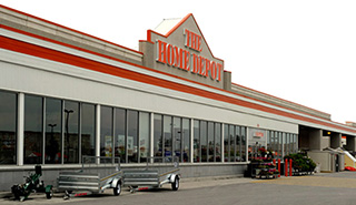 Home Depot Store at 1400 Le Corbusier Blvd