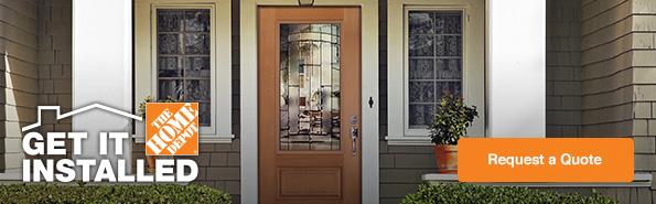 Langley Exterior Doors Installation Services Home Depot